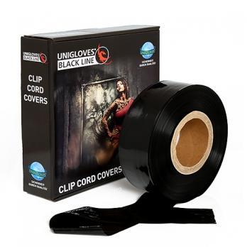 CLIPCORD SLEEVS BLACK - 365m roll