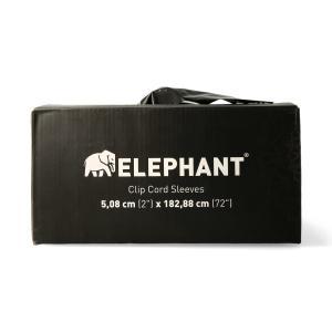 Elephant - Clip Cord Sleeves - 100pcs