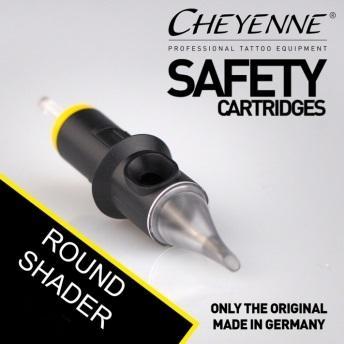 CHEYENNE CARTRIDGE NEEDLE - ROUND SHADER - 10pcs/box