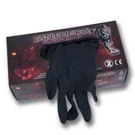 Panthera Black Gloves  - 100pcs.