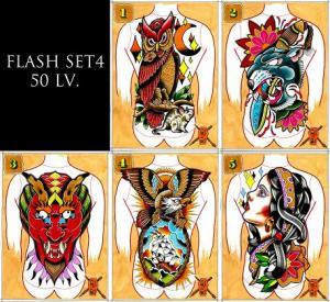 IVO * IITattooist - Flash Set 4